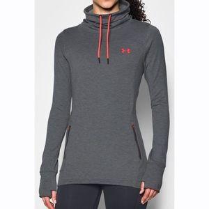 Women's Under Armour Grey pullover sweater XL 💕!